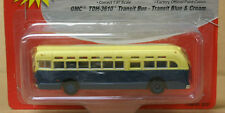 MiniMetals 32307 HO GMC TDH-3610 Transit Bus, Transit Blue & Cream