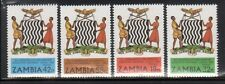Zambia 224-7 Independence Mint NH