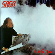 SAGA - Worlds Apart - LP - washed - cleaned - L2954
