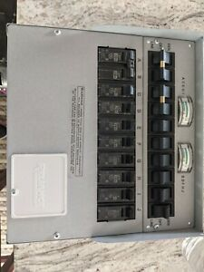 RELIANCE 310c PRO TRAN 2 GENERATOR POWER TRANSFER SWITCH KIT 10 CIRCUIT 30A