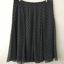 Geometric Polyester Long Regular Size Skirts for Women