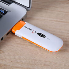Portable USB 3G Wifi Router Wi-fi Device Hotspot Wireless Modem Support SIM Card