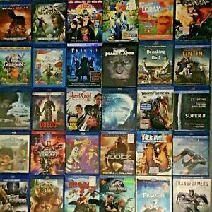 Blu Ray/DVD Movie Lot