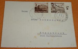 3. Reich Eckrand PK 1941 Oberurbach Urbach Steibruck Haubersbronn Dengelapparat