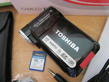 TOSHIBA CAMILEO P10 IN VERY GOOD CONDITION WITH 16GB MEMORY CARD