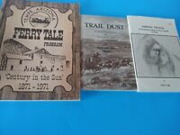 3 Books Shinin' Trails,Trail Dust And Tempe Az, Ferry Tale Program