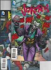 BATMAN New52 #23.1 JOKER 3D Lenticular Cover, Harley Quinn 23.2 regular cover VF