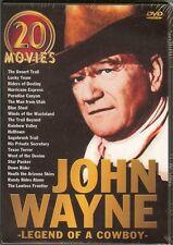 John Wayne - Legend of A Cowboy: 20-Movie Set (DVD) 5-Disc Set - NEW