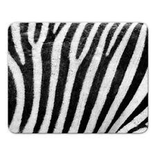 """Scivolo """"Strisce Zebra"""" - 24x19cm-ZEBRA-Tappetino mouse-Motivo-Pelle Animale"""