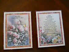 Pair of Love Wall Plaques 6 x 9