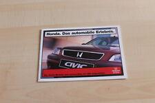 131047) Honda Civc Legend Prelude CRX Prospekt 08/1997