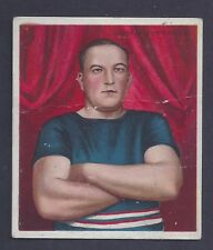 1910 Mecca T218 Champions James Jeffries Prize Fighter Arms Folded Fair