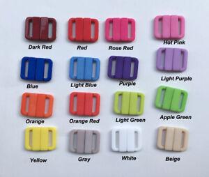 13mm Clip Swimwear Snap Plastic Hook Bra Strap Clasp Lingerie Sewing Buckles
