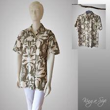 olsen * Leinen Bluse Hemdbluse Hemd 1/2-Arm Leinen/Cotton Gr.48 - 073 natur