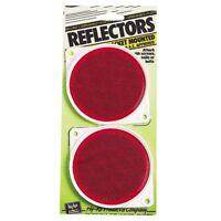 (12 Packs) Hy-Ko Bracketed Nail-On Reflector