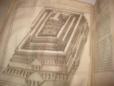 1697 Paris 1ST EDI. Bernard Lamy Apparat de la Bible WITH MANY ILLUSTRATIONS