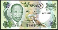 1999 BOTSWANA 10 PULA BANKNOTE * UNC * P-20a