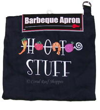 Kitchen Barbeque Apron Printed HOT STUFF with veggies One Size New in Package