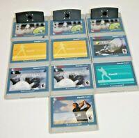 Lot of XaviX Port Game Cartridges Bowling Golf Tennis Baseball Untested