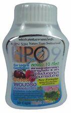 LIPO 9 BURN SLIM Dietary Supplement Weight Loss Detox High Fiber 30 Capsules