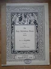 Orgel ? Six Easy Melodious Pieces (1935) ? Herbert Arthur Chambers *Sehr RAR!*