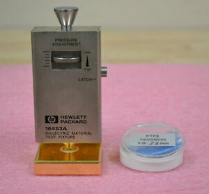 Agilent Keysight 16453A Dielectric Material Test Fixture 1MHz-1GHz for LCR Meter