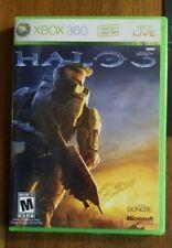 Halo 3 Xbox 360 Complete In Box W/ Manual Cib Very Good