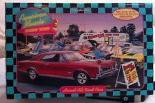 ERTL 1/18 Cruisin' Series Honest Al's Used Cars 1966 Pontiac GTO Diorama