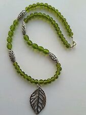Spring Leaves necklace by Shiny Things