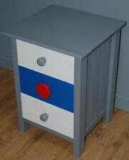 Fab! Three Drawer Pine Bedside Chest Child's Toy Room Storage Chest