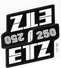 Mz ETZ 250 Panel Lateral Sticker Set