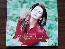 Shania Twain ~ NO ONE NEEDS TO KNOW ~ u.s.promo-only cd single 1995