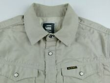 KS521 G-STAR heavy jeans strong shirt size L or M, excellent condition!