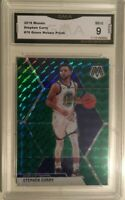 Stephen Curry 2019 Green Panini Prizm Basketball Card Mint 9