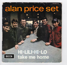 SP 45 TOURS ALAN PRICE SET HI LILI HI LO 79 002 DECCA BIEM en 1966