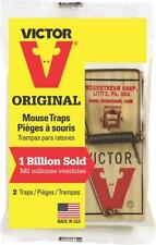 12  m150 Victor Snap Spring Wooden  Mouse Trap / Rodent Control