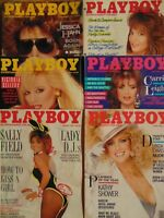6 Must have 80's Playboy Magazine       #1560
