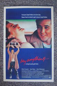 Say Anything  Lobby Card Movie poster John Cusack Iona Skye