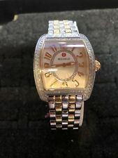 MICHELE URBAN MINI WATCH WITH DIAMONDS .76 TCW  2 Tone  Ka02246ss