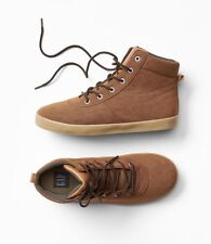 GAP Kids Boys Size US 13 / EU 30 Tan / Brown Hiking Boots Hi-Tops Sneakers Shoes