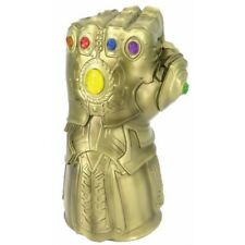 Marvel Avengers THANOS INFINITY GAUNTLET Deluxe Bust Bank Monogram Iron Man