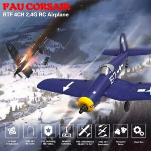 F4U 4CH Beginner Airplane With 6-axis Stabilizer System Ready-To Fly 761-8 Toy