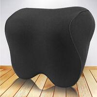 Car Seat Headrest Head Pillow Memory Foam Pad Neck Rest Support Cushion Travel