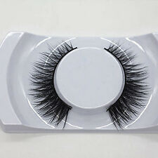Long Natural Thick Faux Mink Fur Eye Lashes False Eyelashes Makeup Kit Sweet