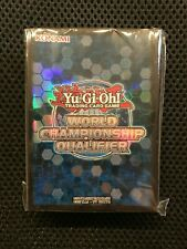 Official Yu-Gi-Oh! Konami WCQ 2019 Promotional Card Sleeves 80 ct. Sealed New!