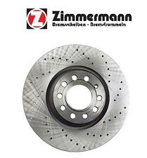 Audi A4 A6 A8 312mm OD Front Disc Brake Rotor Zimmermann Sport 8D0615301JSP