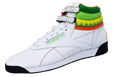 Reebok F/S Freestyle Hi Sushi Intl High-Top Sneaker Tg. 39 Donna Ragazza in Pelle