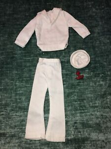Homemade Doll Clothes Sailor Outfit  fits Ken Doll