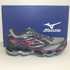 MizunoWave Prophecy 6 Womens  Authentic  Gray/red/purple 6-91/5-10-110