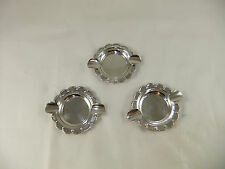 Vintage Mexican Sterling Silver 925 Individual Ashtrays Set of 3 Cigars
